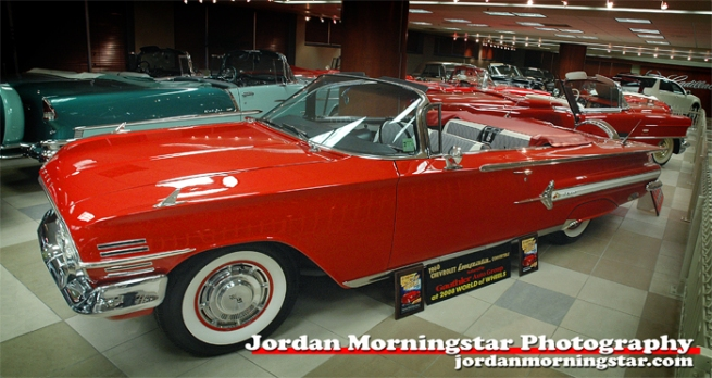 Classic Impala Convertible at the Gauthier Auto Museum