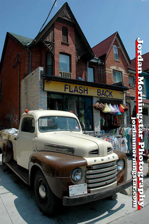 1948 Ford Pickup in Kensington Market, Toronto
