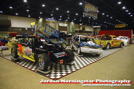 Race cars at 2008 World of Wheels