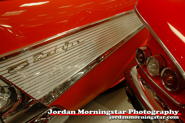 Fins & Taillights--\'57 Chevy and a \'58 Impala