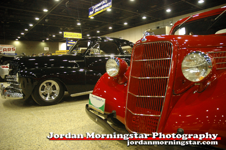 Hot rods at World of Wheels