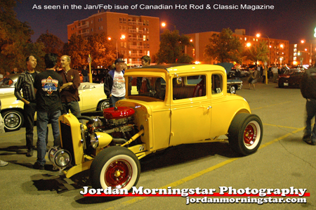 \'31 Chev Business Coupe at the Pony Corall, 2007