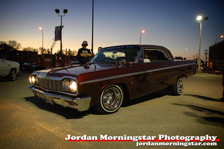 lowrider impala wallpaper.  show who was really showing off his lowrider's bouncing skills.