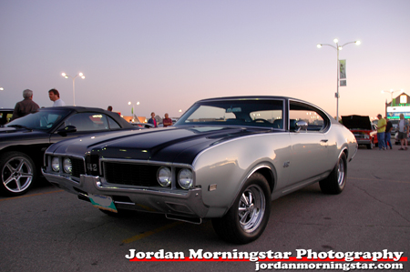 Grant's '69 Olds came to him in 1975, when his family was young and he
