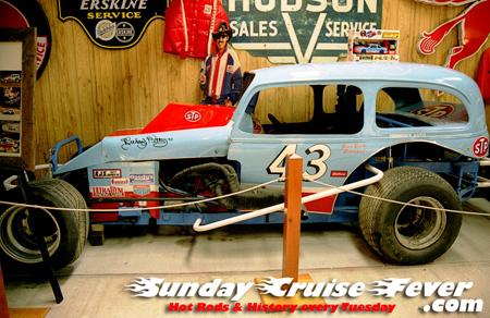 Richard Petty's first race car