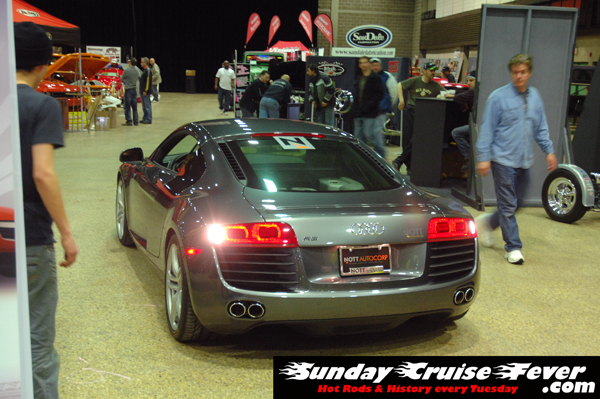 Audi R8 at Winnipeg World of Wheels