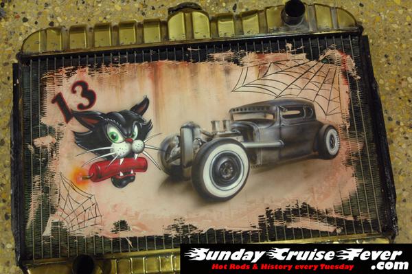 Radiator painting