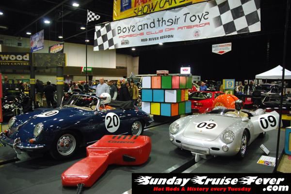 """Porsche Club """"toy cars"""" exhibit"""