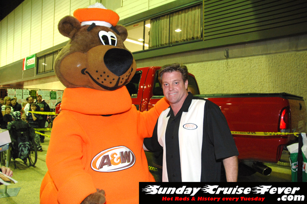 A&W Root Bear & Chip Foose