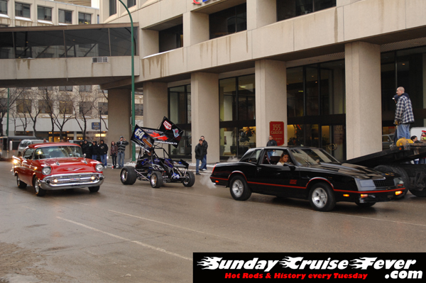 '57 Chevy, Mini-Sprint car, and Monte Carlo SS