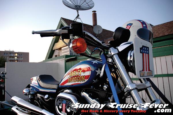 Evel Dave Radey's Harley Davidson