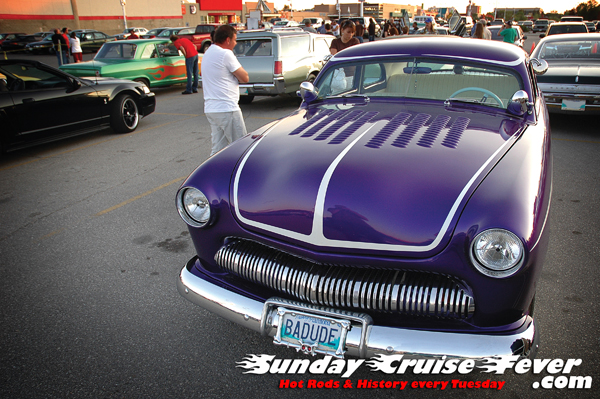 Clarence's 1950 Mercury lead sled