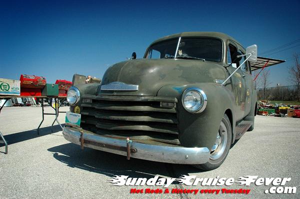 1950's Chevy Suburban