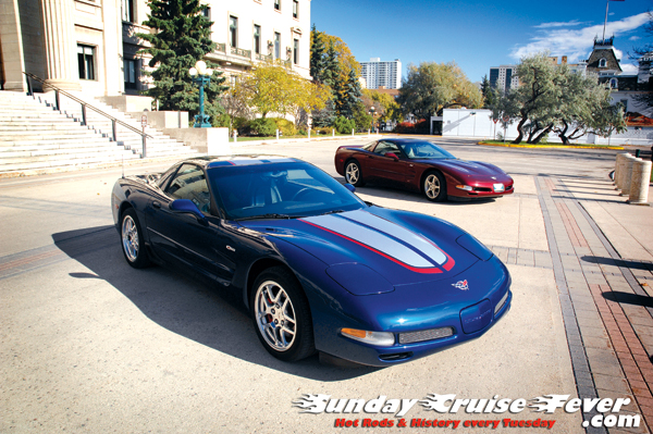 24 hours of LeMans & 50th Anniversary C5's